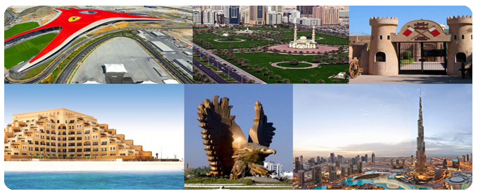 6 Emirates Tour, UAE Tour Packages, Emirates City Tours, Emirates City Guide, UAE Sightseeing Tour