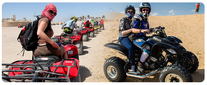 Quad Bike Safari Tour Dubai