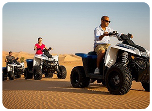 quad bike desert safari dubai