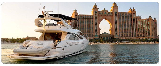 Yacht rental dubai yacht charter dubai tour packages for Luxury travel in dubai